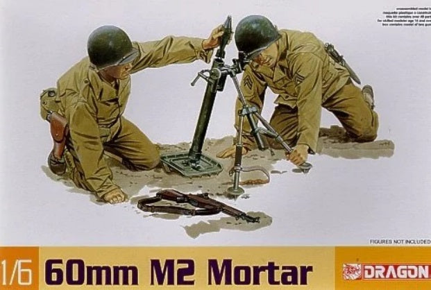 1/6 60mm M2 Mortar