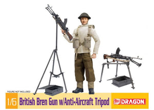 1/6 British Bren Gun w/Anti-Aircraft Tripod