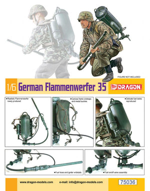 1/6 German Flammenwerfer 35