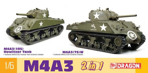 1/6 M4A3 (2 in 1)