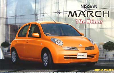 1/24 Nissan March 14e 5 door