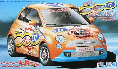 1/24 Fiat 500 WROOOM Version 2008 #07 Orange Body