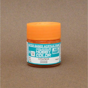 Mr. Hobby Aqueous Hobby Color H014 : Orange (Gloss) 10ml