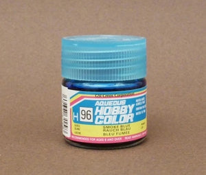 Mr. Hobby Aqueous Hobby Color H096 : Smoke Blue (Gloss) 10ml