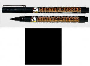 GUNDAM MARKER (Brush Type, Aqueous-based, Black)