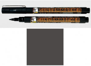 GUNDAM MARKER (Brush Type, Aqueous-based, Gray)