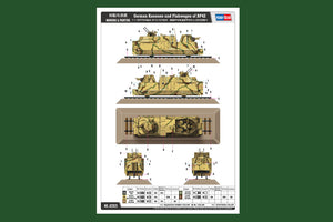 1/35 German Kanonen und Flakwagen of BP42
