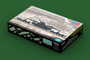 1/72 German KARL-Geraet 040/041 on Railway Transport Carrier
