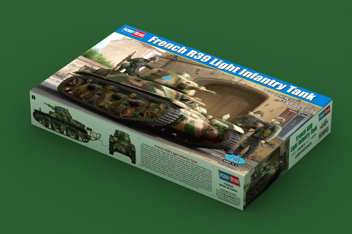 1/35 French R39 Light Infantry Tank