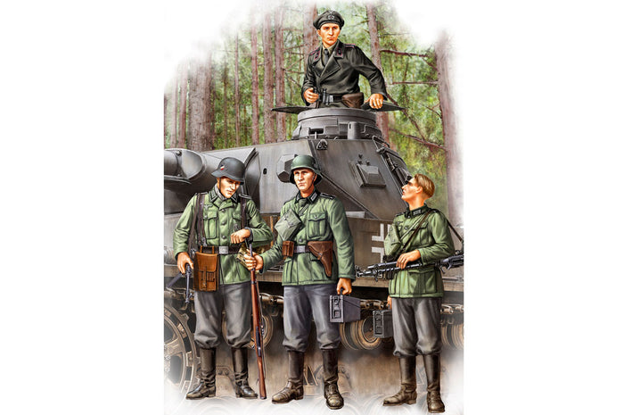 1/35 German Infantry Set Vol.1 (Early)