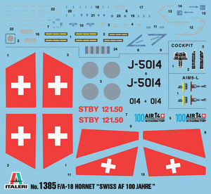 1/72 F/A-18 Swiss Air Force