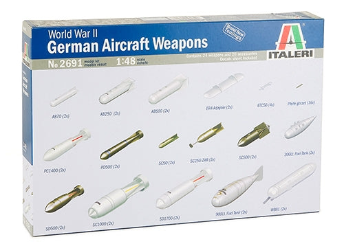 1/48 WWII German Aircraft Weapons