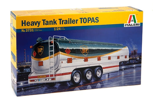 1/24 Heavy Tank Trailer TOPAS