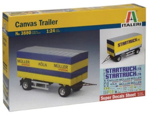 1/24 Canvas Trailer