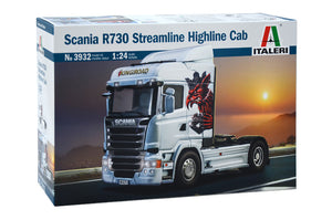 1/24 Scania R730 Streamline Highline Cab