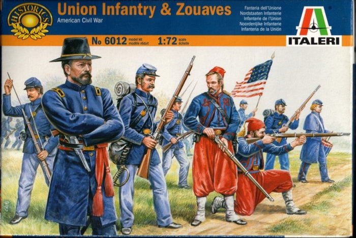 1/72 Union Infantry and Zouaves (American Civil War)
