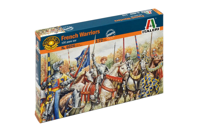 1/72 French Warriors (100 Years War)