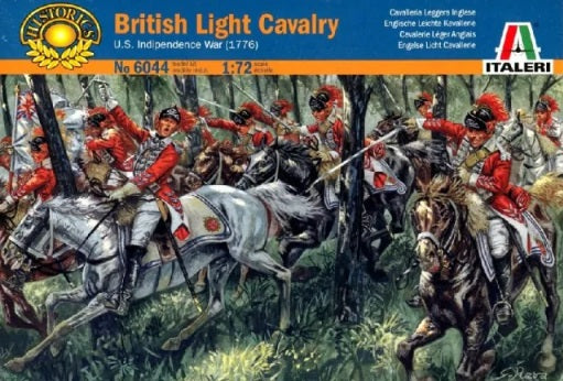 1/72 British Light Cavalry (U.S. Independence War 1776)