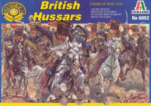 1/72 British Hussars (Crimean War 1854)