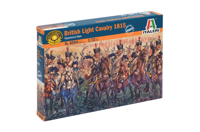 1/72 British Light Cavalry 1815