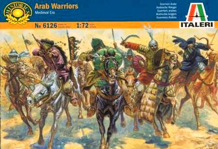 1/72 Arab Warriors (Medieval Era)