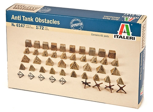 1/72 Anti Tank Obstacles