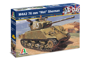 "1/35 M4A2 76mm ""Wet"" Sherman"