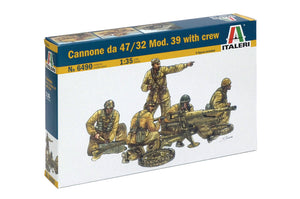 1/35 Cannone da 47/32 Mod. 39 with crew