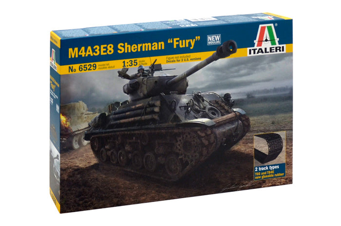 "1/35 M4A3E8 Sherman ""Fury"""
