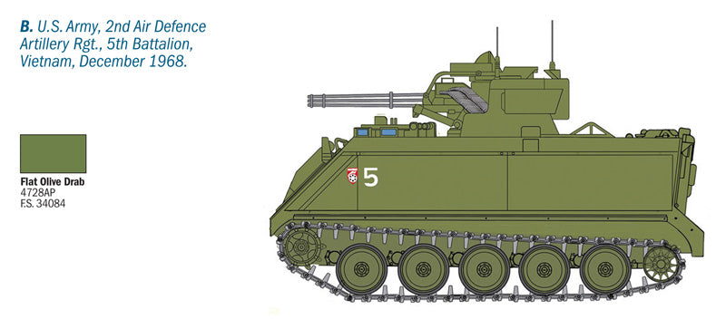 1/35 M163 VADS – Cyber Hobby