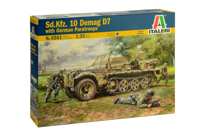 1/35 Sd.Kfz. 10 Demag D7 with German Paratroops