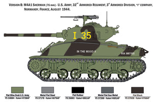 1/35 M4A1 Sherman with US Infantry