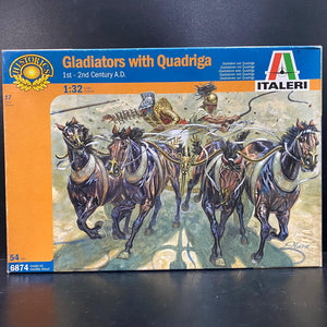 1/32 Gladiators with Quadriga (1st - 2nd Century A.D.)