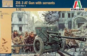 1/32 ZIS 3 AT Gun with servants