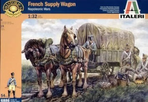 1/32 French Supply Wagon (Napoleonic Wars)