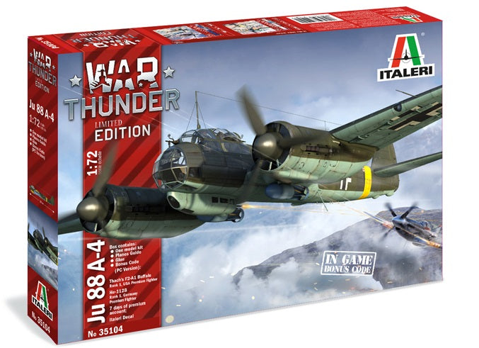 1/72 Ju 88A-4 (War Thunder Edition)