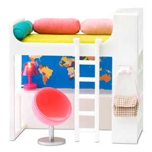 Lundby 1/18 Smaland Loft Bed Set