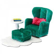 LUNDBY 1/18 SMALAND ARMCHAIR+FOOTS