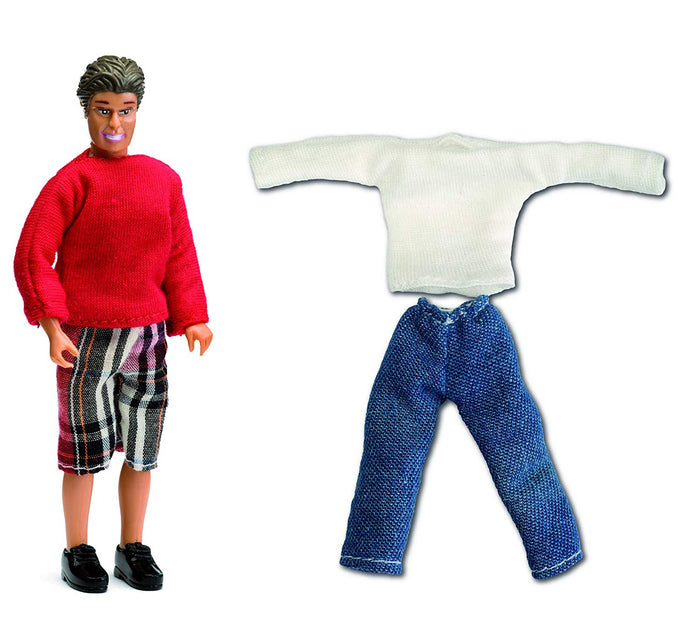 Lundby 1/18 Smaland Father Doll Extra Set of Clothes