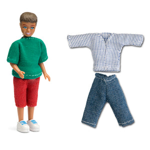 Lundby SMALAND BOY + CLOTHES