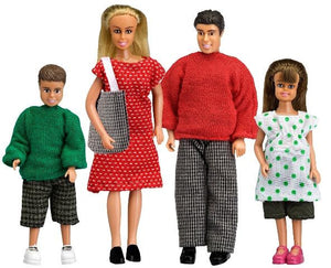 Lundby 1/18 SMALAND DOLL FAMILY, CLASSIC