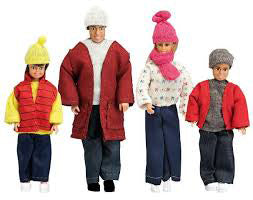 SMALAND DOLL FAMILY WINTER