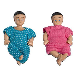 Lundby Smaland Doll Family, 2 Babies