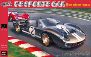 1/12 US Sports Car - 24 hour endurance racing car (Ford GT40 Mk II)