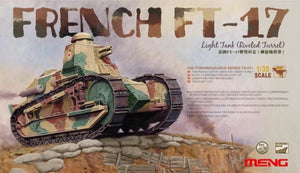 1/35 French FT-17 Light Tank (Riveted Turret)