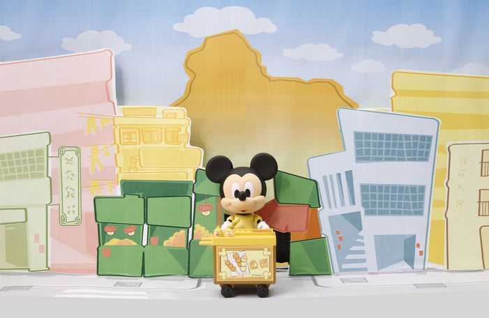 Disney Play Buddies Collection - Fish Ball Cart (Mickey) Playset