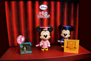 Disney Play Buddies Collection - Graduation Series (Minnie) Playset
