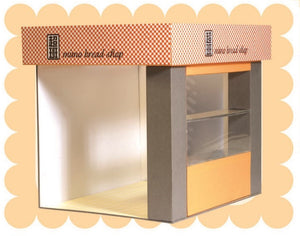 mimo miniature - Bread Shop 超班麵包場景 (Store)