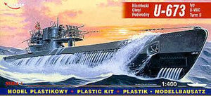 1/400 German U-BOOT U-673 (VIIC/T2)