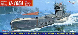 1/400 German U-BOOT U-1064 (VIIC/41 T4)